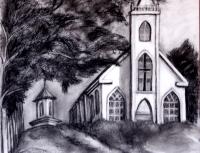 St. Theresa BB, pencil