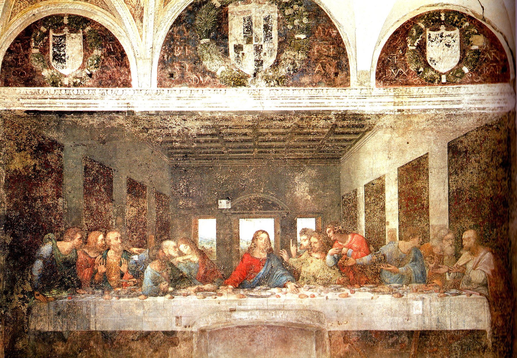 Diving Into Renaissance Art: Three Versions of The Last Supper: 2. Leonardo's